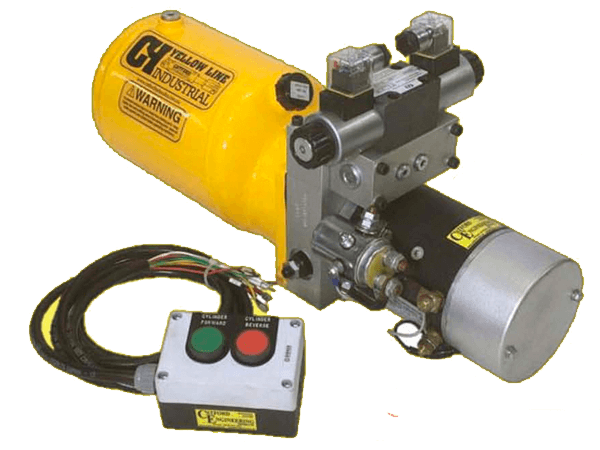 1.6kw hydraulic power pack 3.8 litre