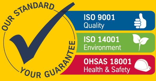 iso compliance quality guarantee stamp with check mark